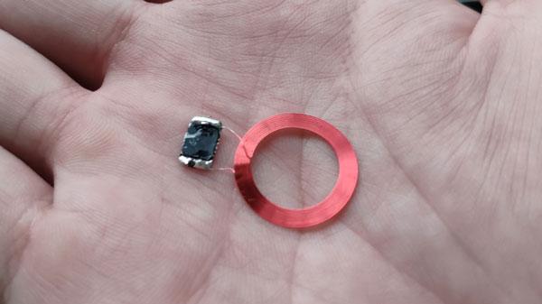 晶片加上線圈